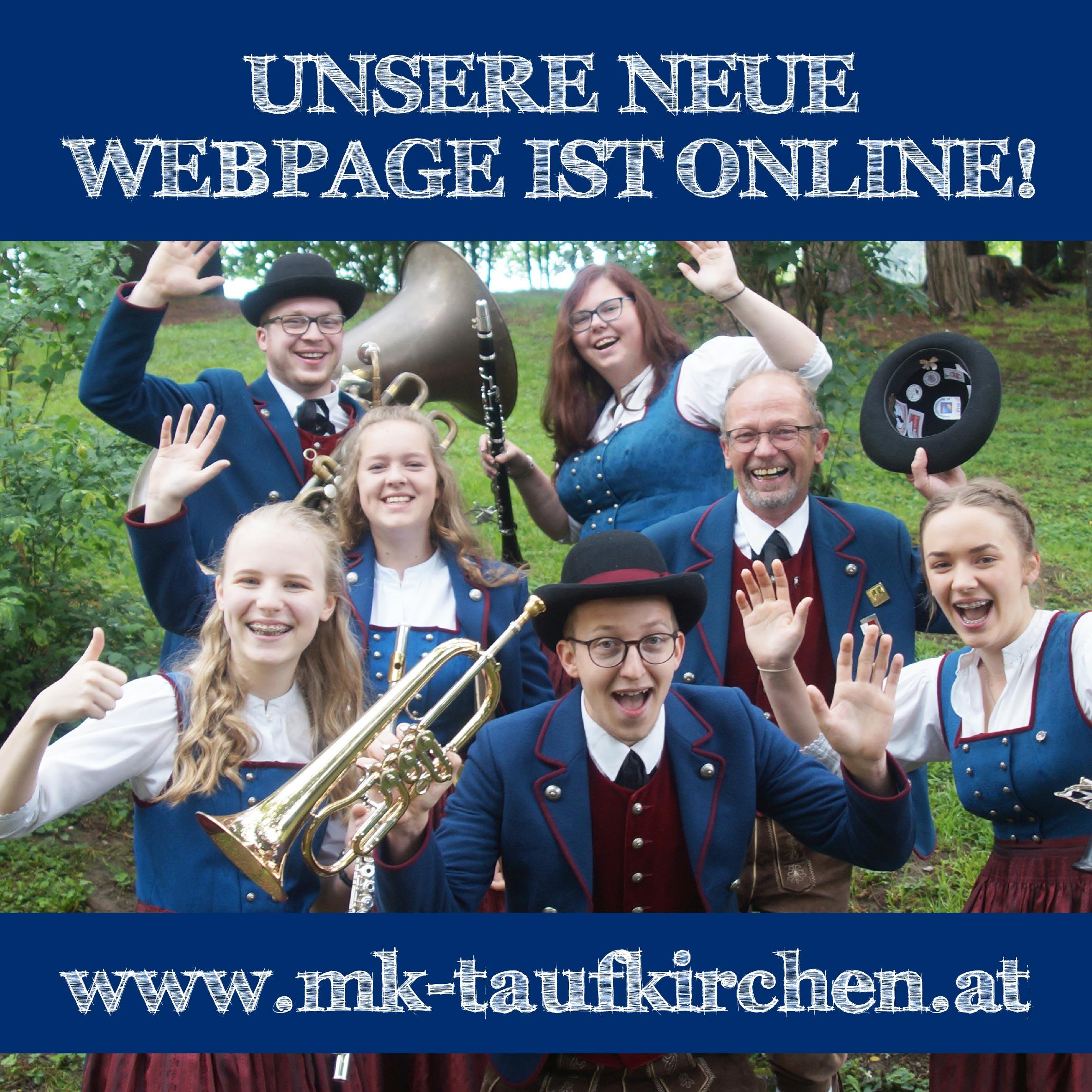 Neue WEBPAGE online!