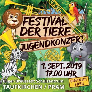 Jugendkonzert – Festival der Tiere